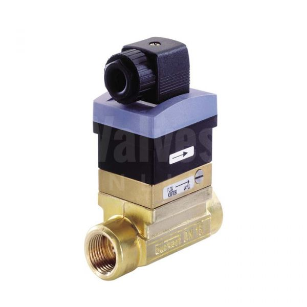 Burkert Type 8010 Brass Paddle Flow Switch / Sensor