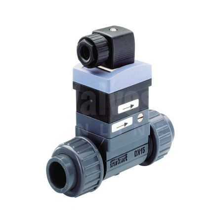Burkert Type 8010 PVC Paddle Flow Switch / Sensor
