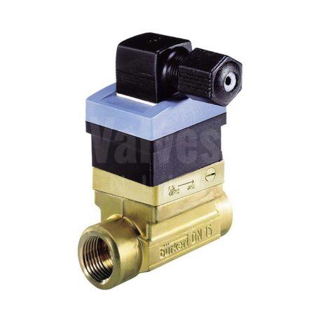 Burkert Type 8030 Inline Brass Paddle Wheel Flowmeter