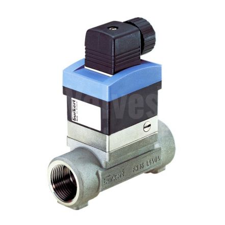 Burkert Type 8030 Inline Stainless Steel Paddle Wheel Flowmeter