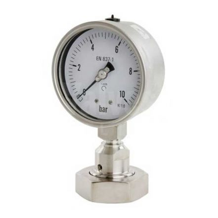Hygienic Pressure Gauge with Flush Seals